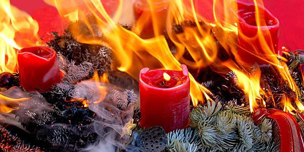 Sichere Adventszeit: neun Tipps der Feuerwehr