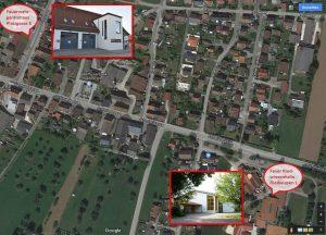 Standorte der Defibrillatoren in Bernstadt